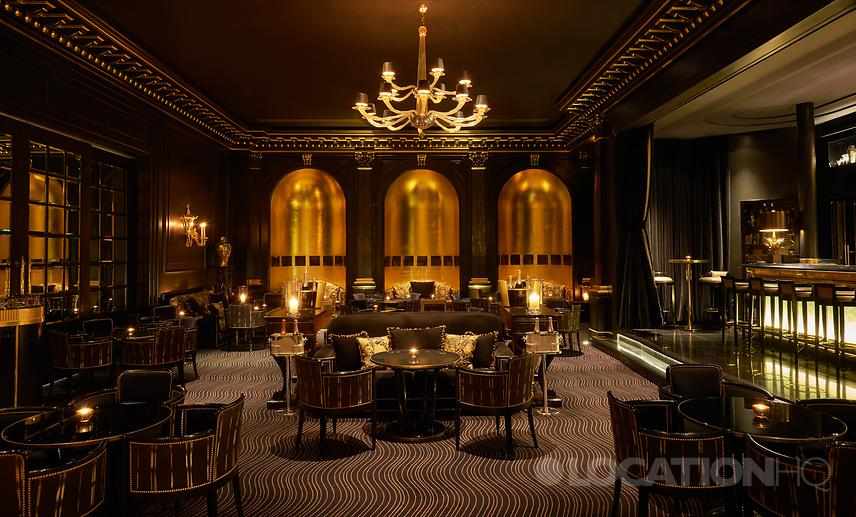 London art deco restaurant and bar for filming