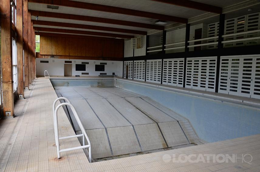 Empty Pool And Gym For Filming